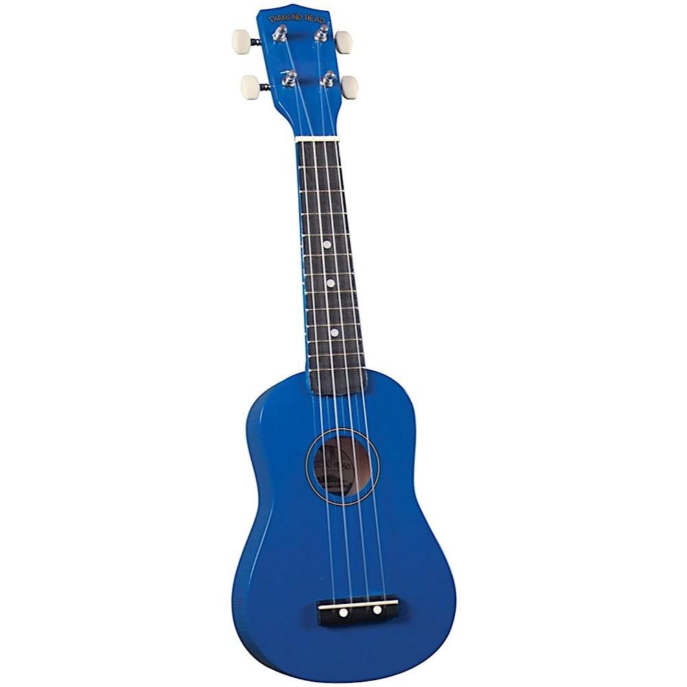 Saga Musical Instruments Diamond Head Ukulele - Blue