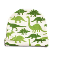 Winter Water Factory Baby Hat Dinosaur Green