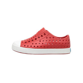 Native Shoes Native Shoes Jefferson Child - Torch Red/Shell White