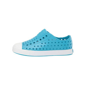 Native Shoes Native Shoes Jefferson Child - Ultra Blue/Shell White