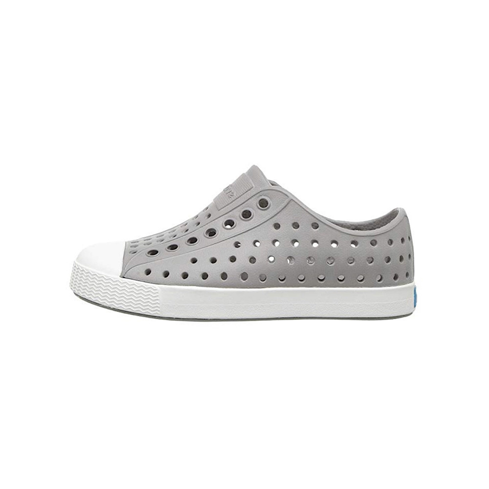 Native Shoes Jefferson Child - Pigeon Grey/Shell White