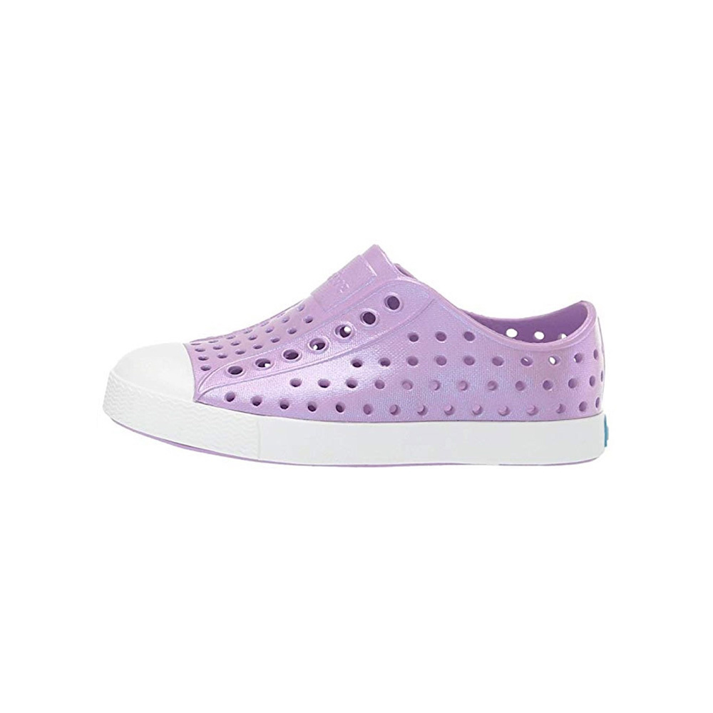 Native Shoes Jefferson Child - Lavender Purple/Shell White/Galaxy Iridescent