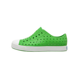 Native Shoes Native Shoes Jefferson Child - Grasshopper Green/Shell White