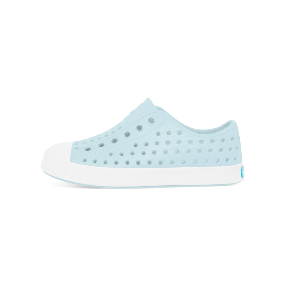 Native Shoes Native Shoes Jefferson Child - Sky Blue/Shell White