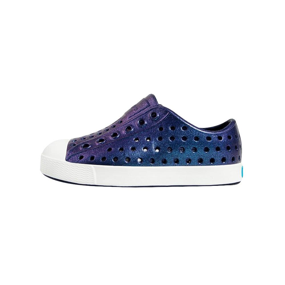 Native Shoes Native Shoes Jefferson Child - Regatta Blue/Shell White/Galaxy Iridescent
