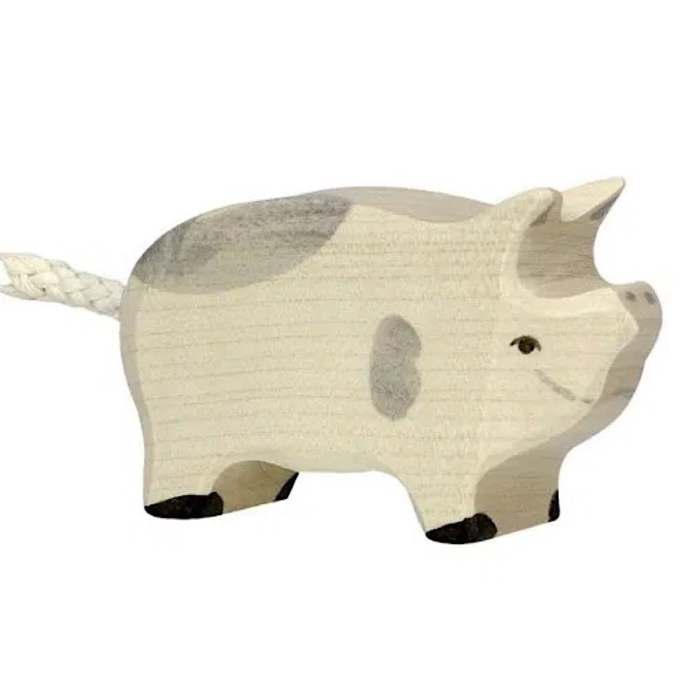 Holztiger Wooden Piglet Dappled
