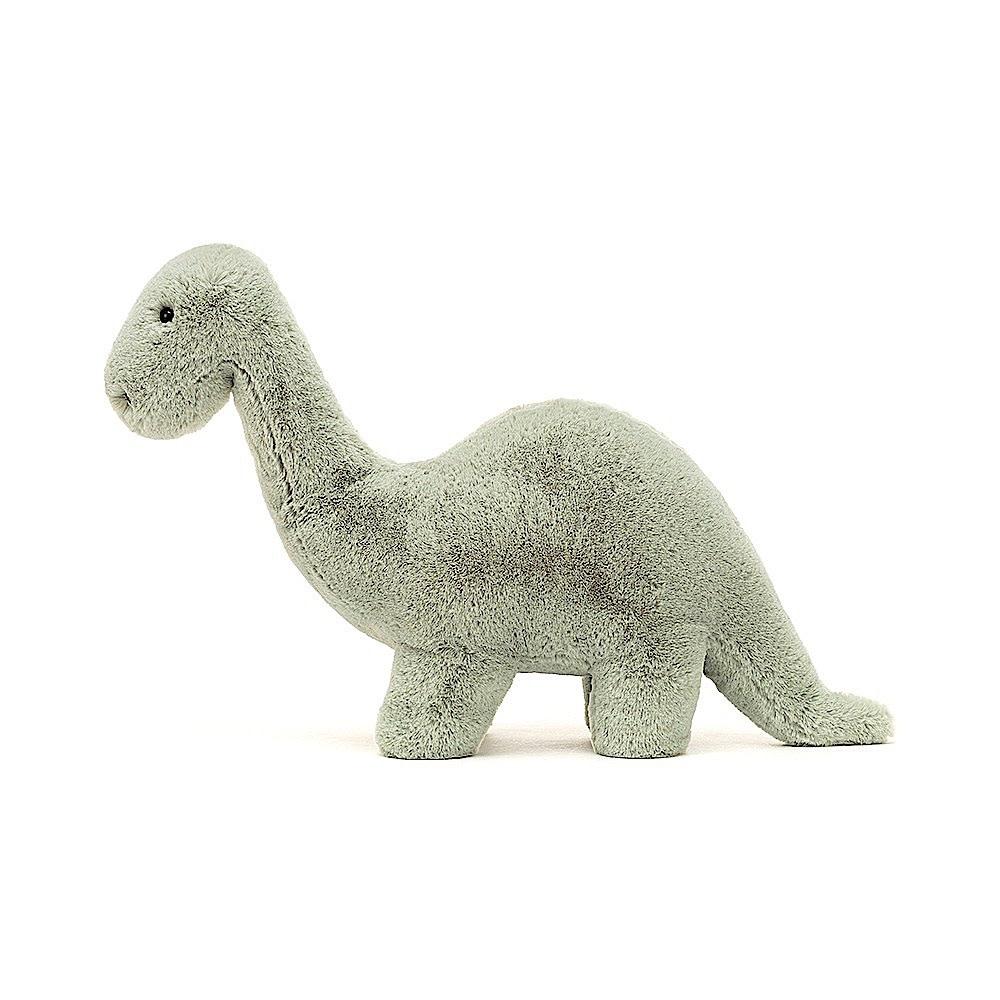 Jellycat Fossilly Brontosaurus Dinosaur  - 10 Inches