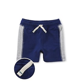 Tea Collection Tea Collection Good Side Panel Baby Shorts - Nightfall