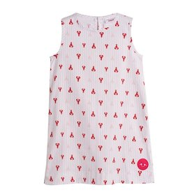 Smiling Button Smiling Button Tuni Dress - Lovely Lobster