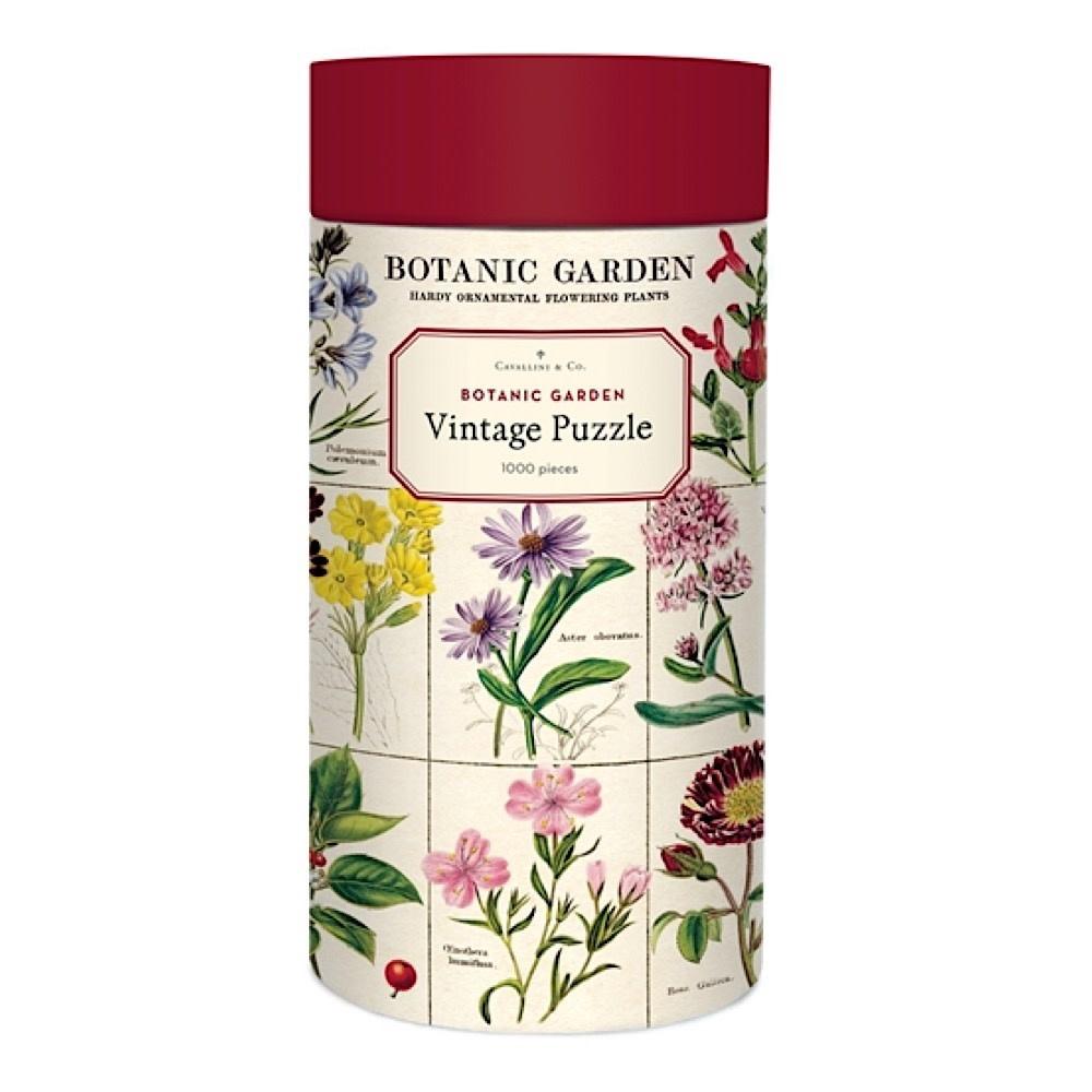 Cavallini Papers & Co., Inc. Cavallini Jigsaw Puzzle - Botanic Garden - 1000 Pieces