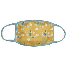 Karma Karma Face Mask - Adult - Gold Floral