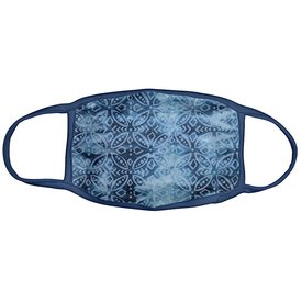 Karma Karma Face Mask - Adult - Indigo Medallion
