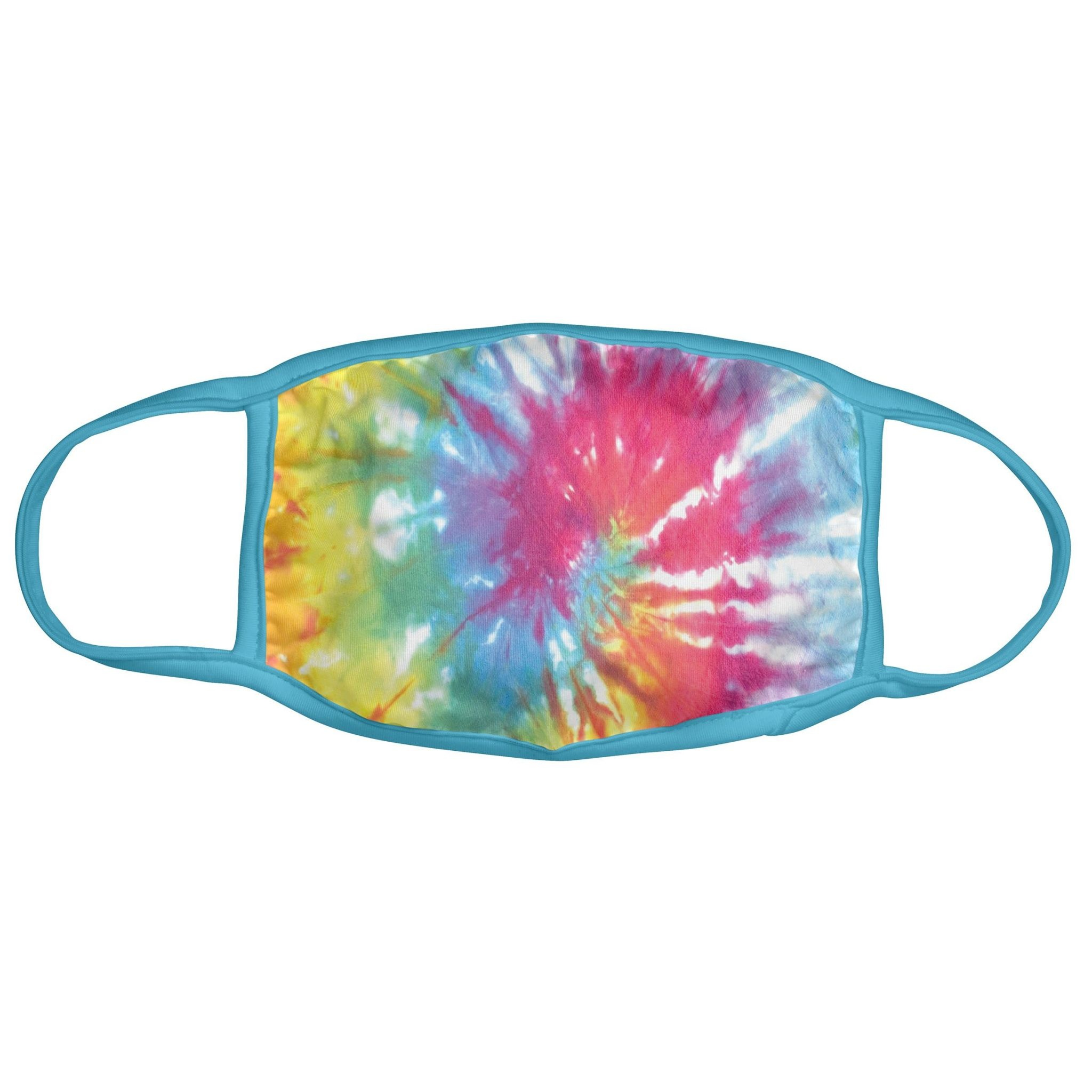 Karma Face Mask - Adult - Rainbow Tie Die