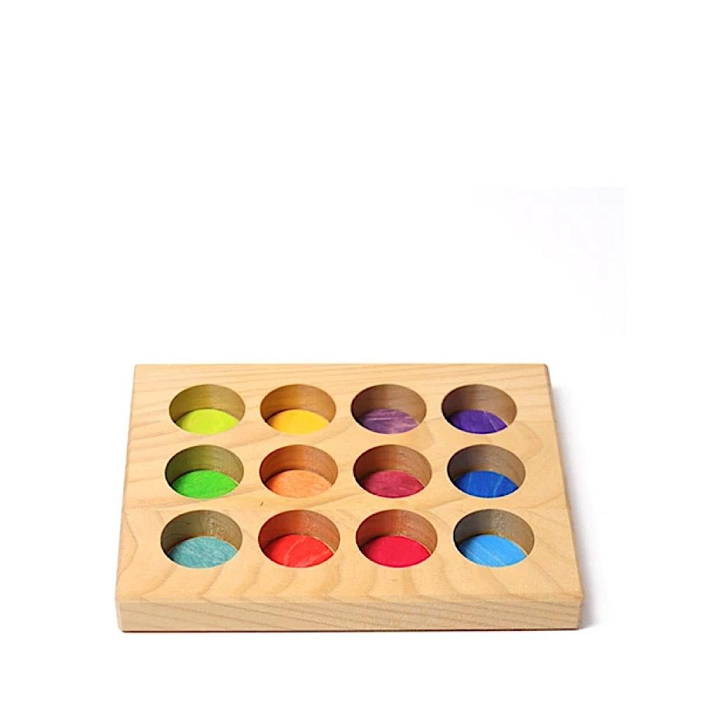 Grimms Sorting Board - Rainbow