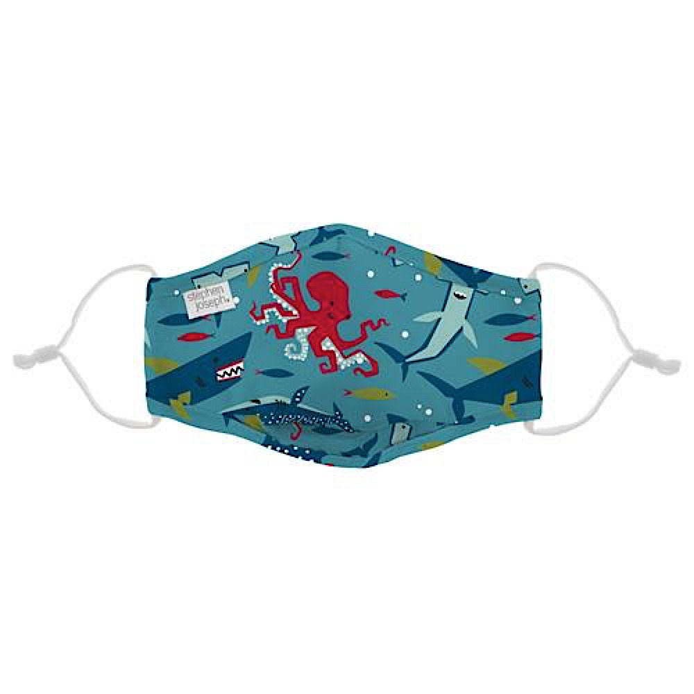 Stephen Joseph Kids Face Mask - Shark