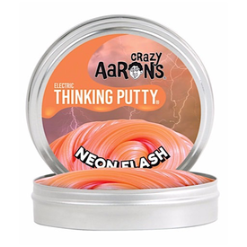 Crazy Aaron Crazy Aaron's Thinking Putty Mini Neon Flash 2""