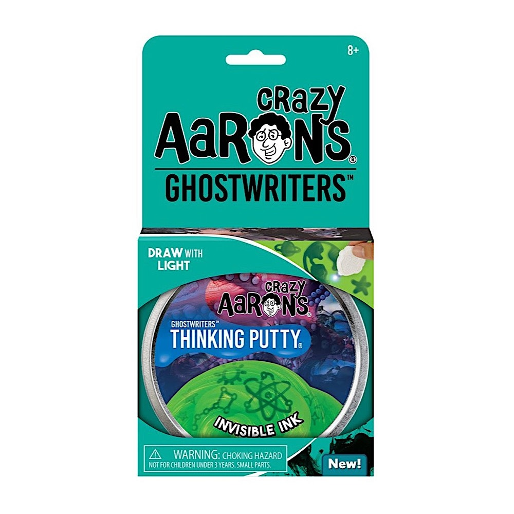 Crazy Aaron's Thinking Putty Invisible Ink 4""