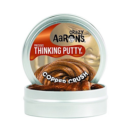 Crazy Aaron's Thinking Putty - Precious Metals Copper Crush 4