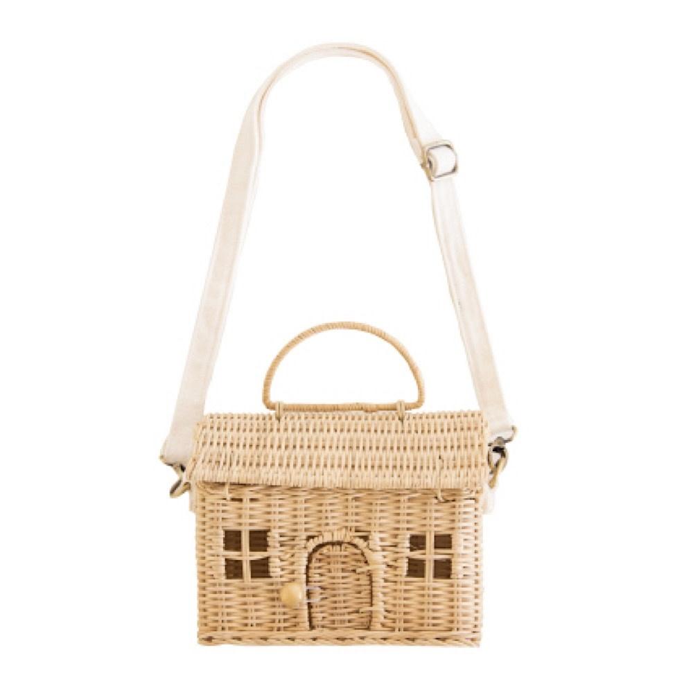 Olli Ella Olli Ella Casa Bag - Straw