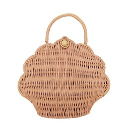 Olli Ella Olli Ella Shell Purse - Rose