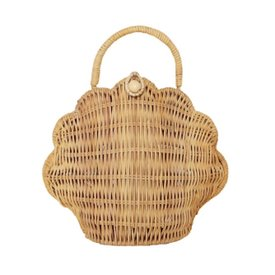 Olli Ella Olli Ella Shell Purse - Straw