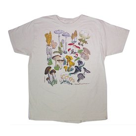 Liberty Graphics Liberty Graphics Adult Organic Tee - Mushrooms