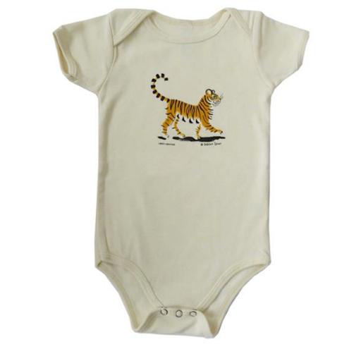 Liberty Graphics Onesie - Dahlov Ipcar's Little Tiger