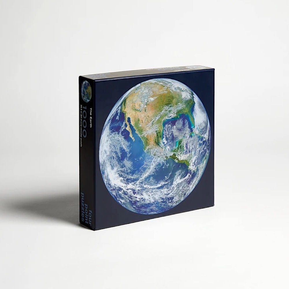 Four Point Puzzles The Earth Circular Jigsaw Puzzle - 1000 Piece