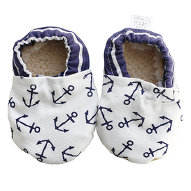 Two Little Beans & Co. Two Little Beans Baby Booties - Nautical