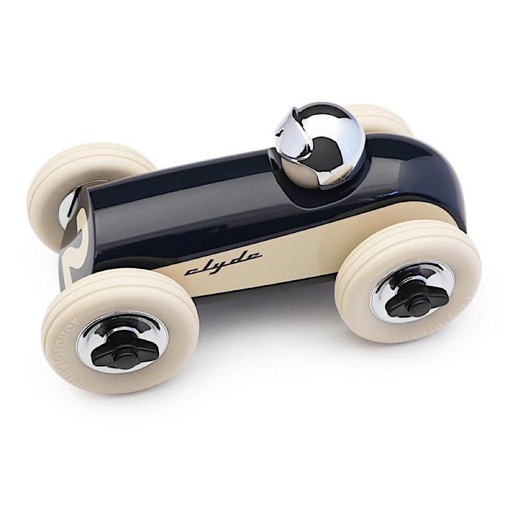 Playforever Midi 2 Race Car Clyde  - Navy/Chrome