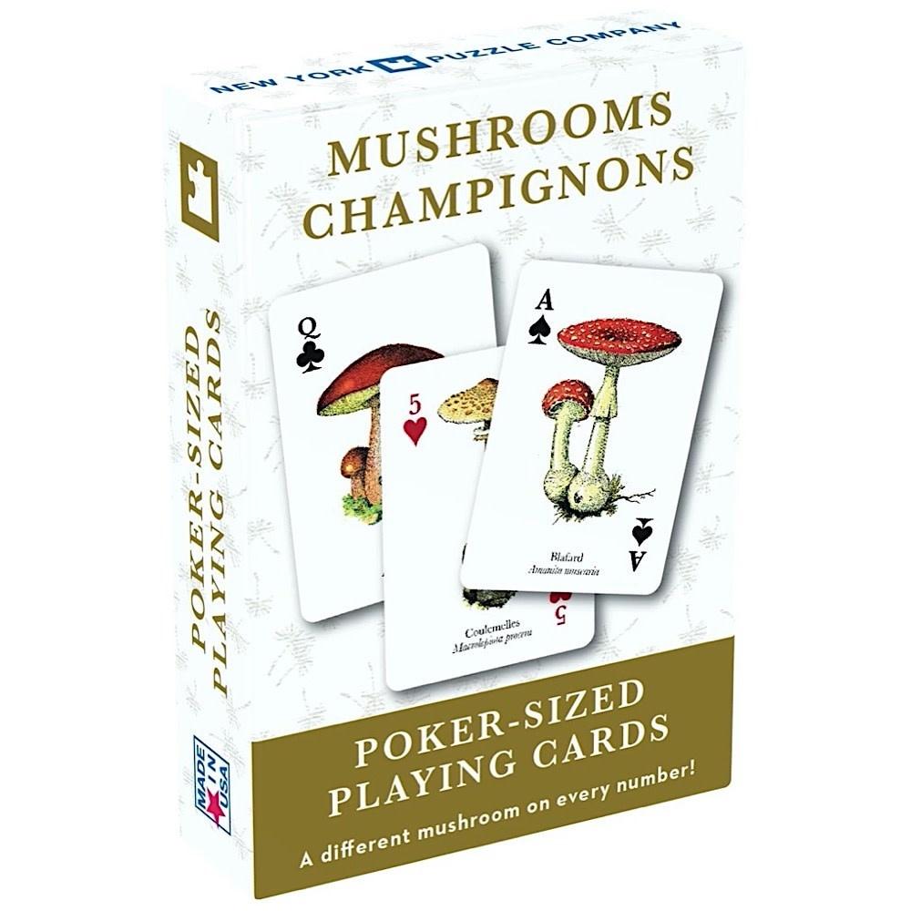 New York Puzzle Co - Mushroom Cards