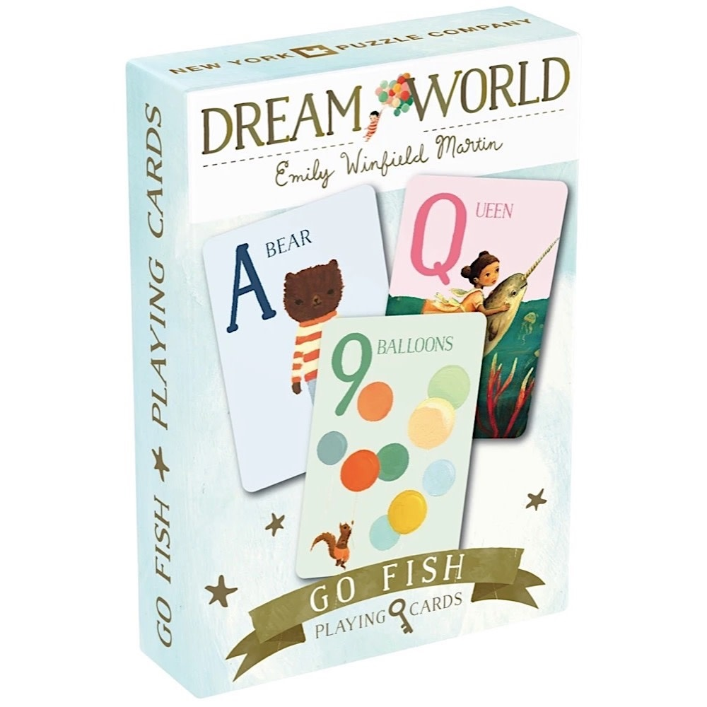 New York Puzzle Co. New York Puzzle Co - Dream World Go Fish Cards