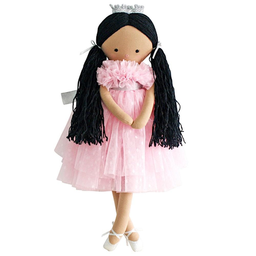Alimrose Penelope Princess - Pink Spot Tulle