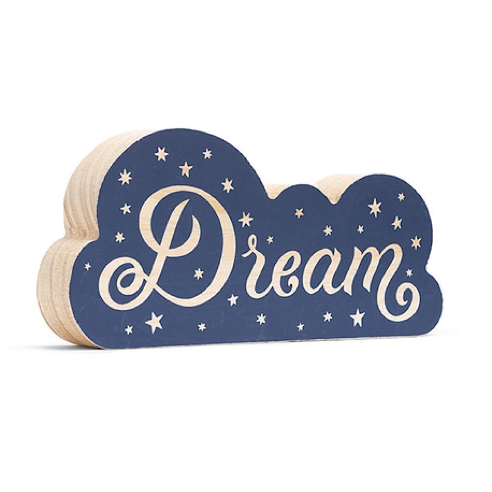 Wood Desk Sign - Dream