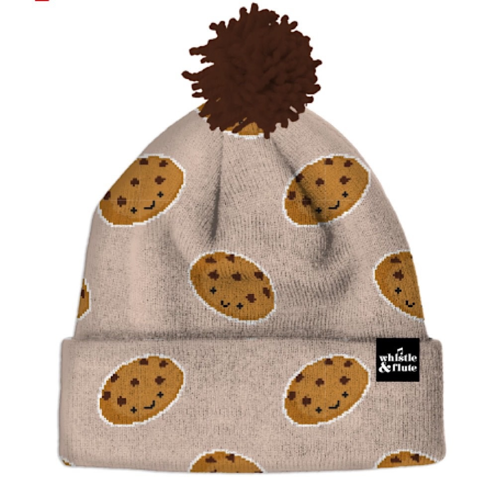 Whistle & Flute Kawaii Beanie Cookies One Size