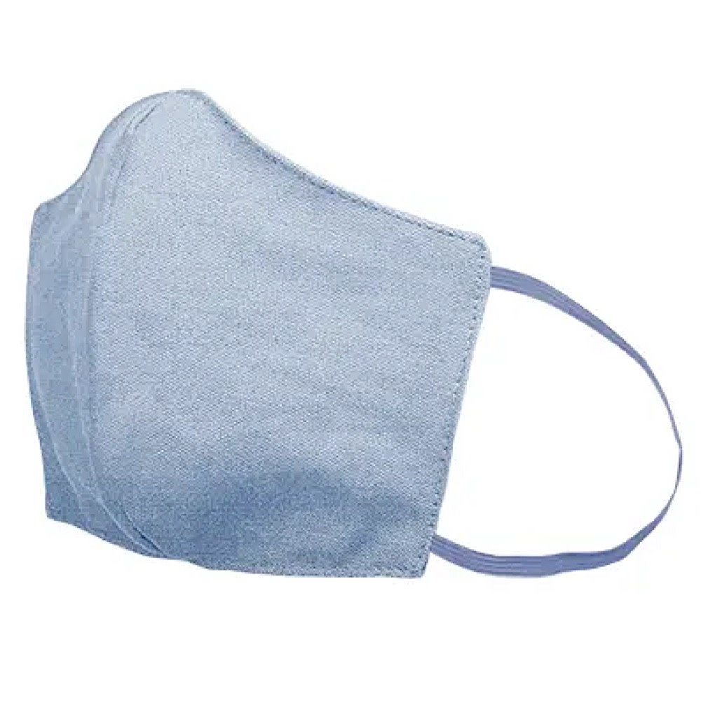 Talking Out of Turn Talking Out of Turn Face Mask - French Wash Denim - Medium