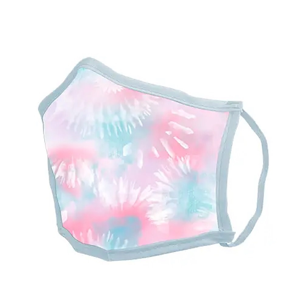 Talking Out of Turn Face Mask - Tie Dye Cotton Candy - Medium