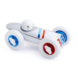Playforever Playforever Allons-y Car - White