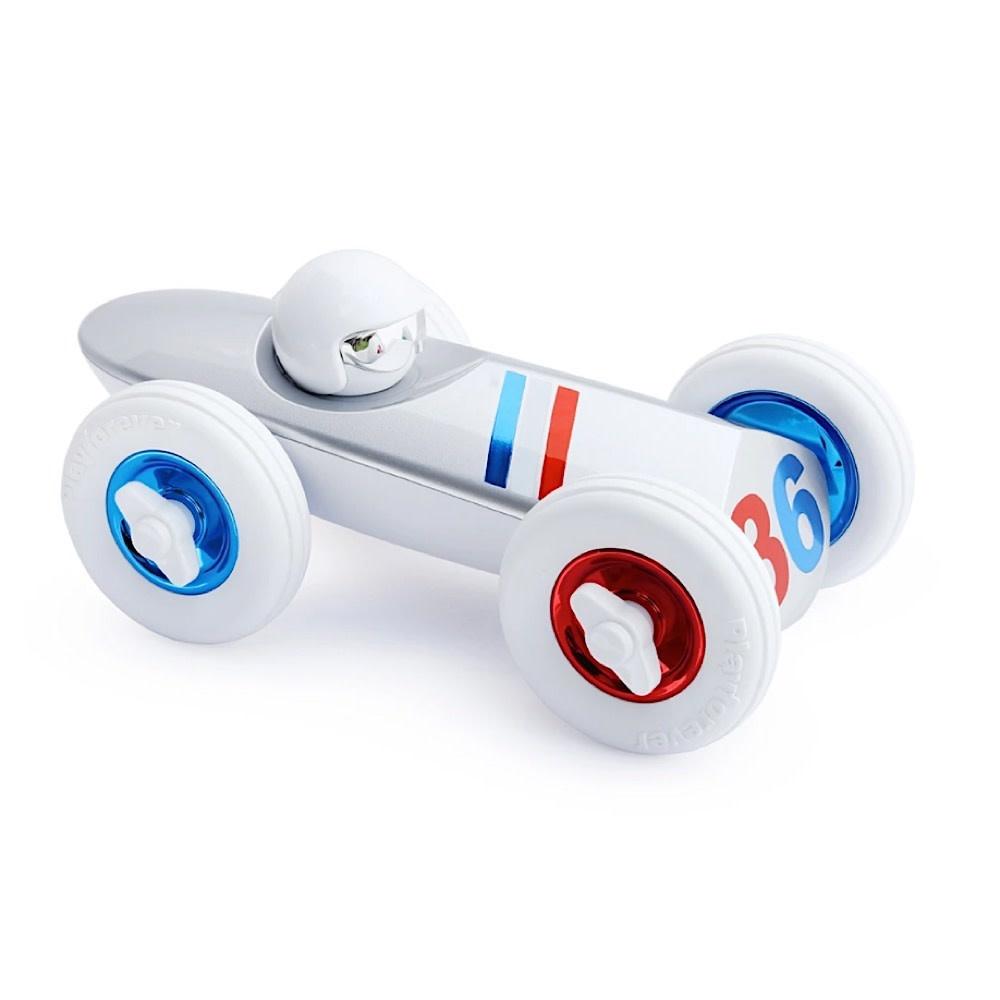 Playforever Allons-y Car - White