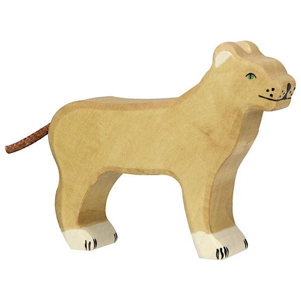 Holztiger Wooden Lioness