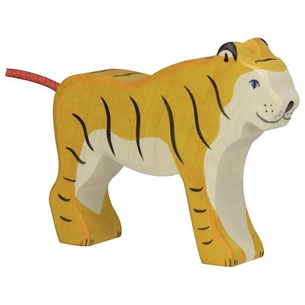 Holztiger Wooden Tiger Standing