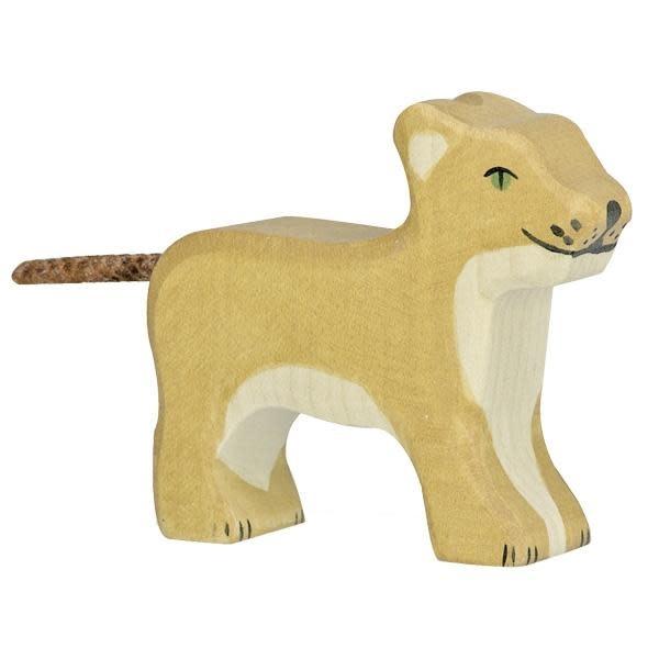 Holztiger Holztiger Wooden Lion - Small Standing