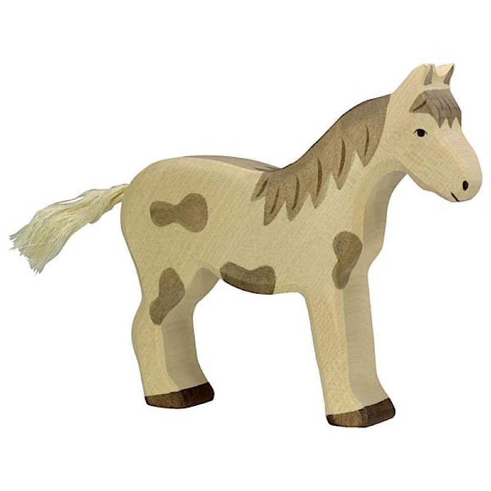Holztiger Wooden Horse - Standing Dappled