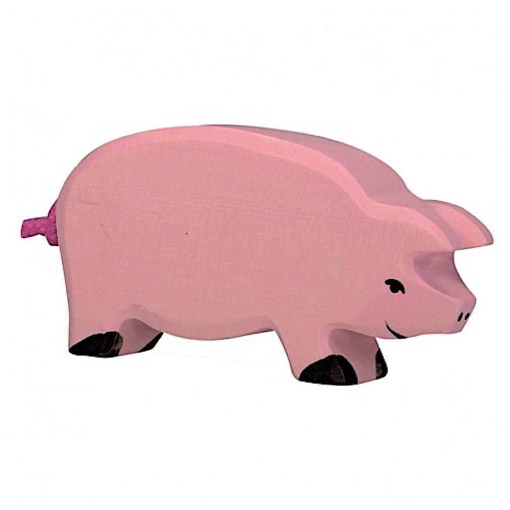 Holztiger Wooden Pig - Mama
