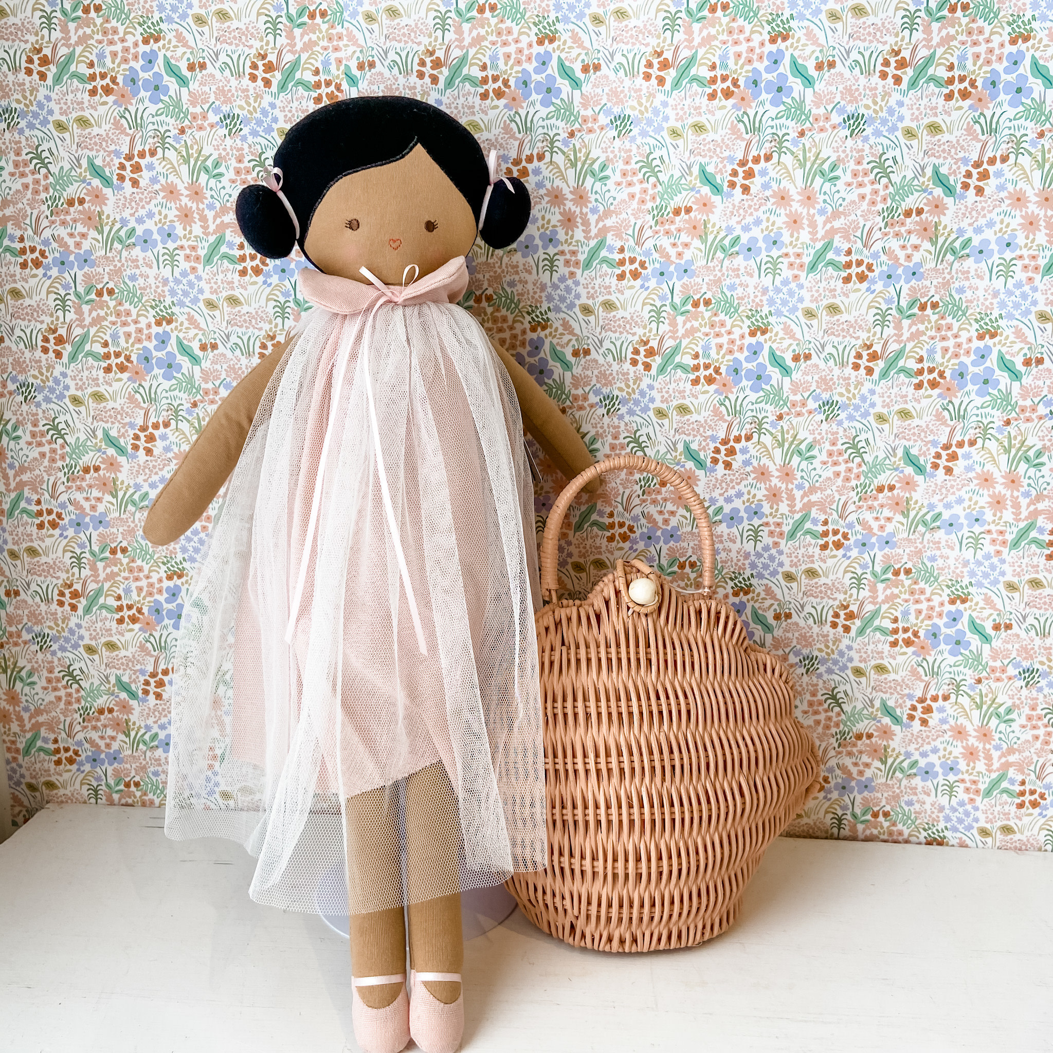 Alimrose Lulu Doll - Pink