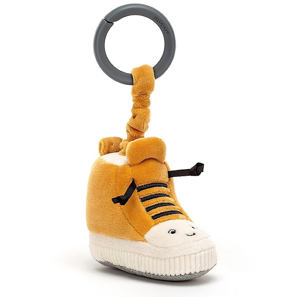 Jellycat Jellycat Kicketty Sneaker Jitter - 4 Inches