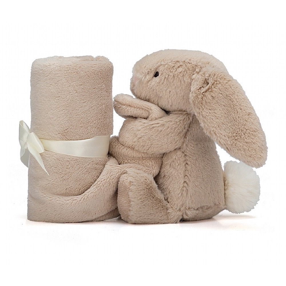 Jellycat Bashful Beige Bunny Soother - 13 Inches