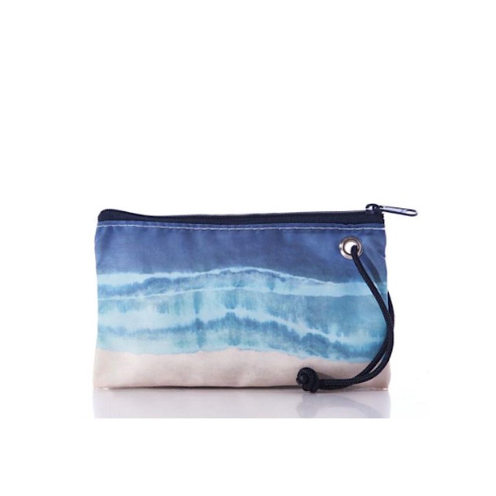 Sea Bags Sea Bags Wristlet - Shoreline Tie-Dye