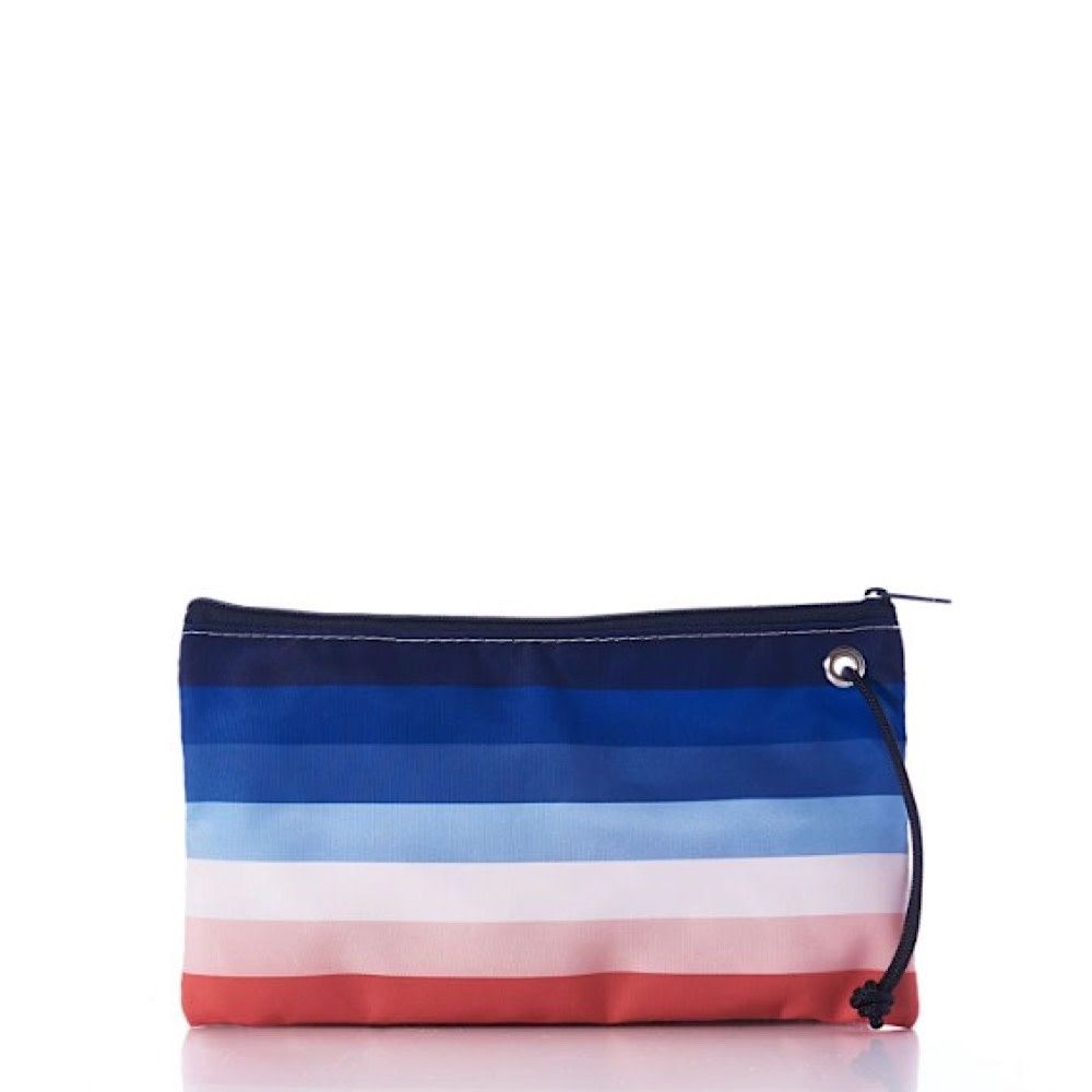 Sea Bags Large Wristlet - Sunset Stripe