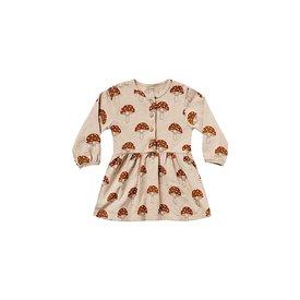 Rylee + Cru Rylee + Cru Button Up Dress - Mushroom - Oat